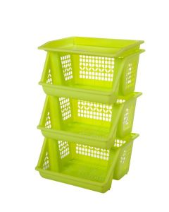 Plastic Forte, Vegetable Rack - Green