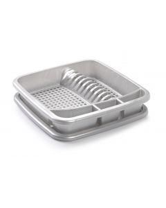Plastic Forte, Dish Drainer - Silver