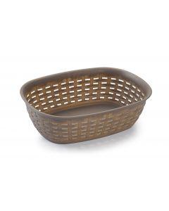 Plastic Forte, Bread Basket - Moka