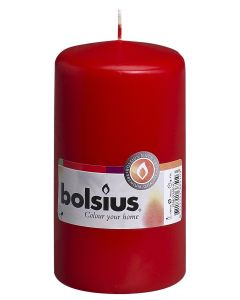 Bolsius, Bolsius Pillar Candle 130/70 Red