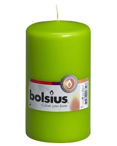 Bolsius, Bolsius Pillar Candle 130/70 Lime