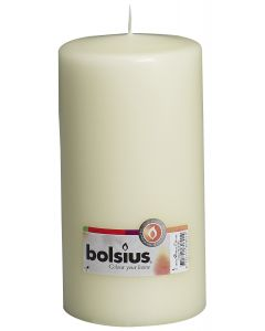 Bolsius, Bolsius Pillar Candle 200/100 Ivory
