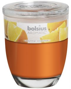 Bolsius, Bolsius Frosted Glass With Frgrance 120/100 Orange