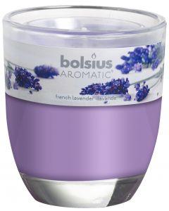 Bolsius, Bolsius Glass Oval 80/70 Lavender