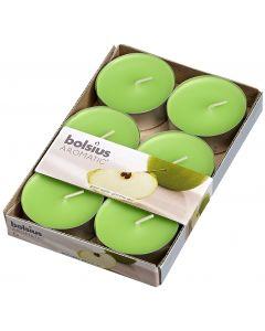 Bolsius, Bolsius Maxi Light X 6 Green Apple