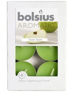 Bolsius, Bolsius Tealight Box 6 Pcs Green Apple