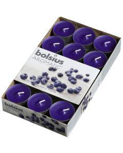 Bolsius, Bolsius Tealight Box 30 Pcs. Blueberry