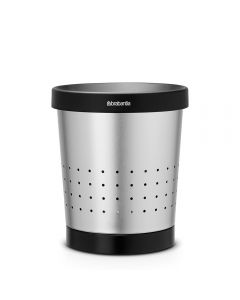 Brabantia, Waste Paper Bin, 5 Litre, Conical - Matt Steel