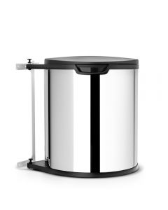 Brabantia, Built-in Bin, 15 Litre - Brilliant Steel