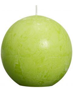 Bolsius, Bolsius Rustic Ball Candle 80 Mm Lime