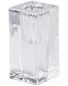 Bolsius, Bolsius Glass Holder Square 80/40 Mm Transparent