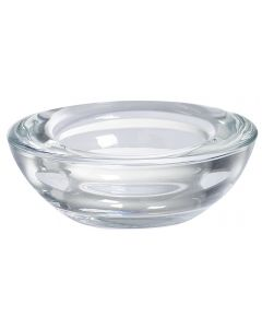 Bolsius, Bolsius Glass Holder Round 20/74 Transparent