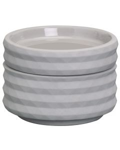 Bolsius, Bolsius Ceramic Stack Candle Holder Light Grey